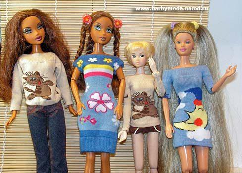 Вещи для кукол просто